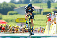 17th July 2021, St Emilian, Bordeaux, France;  DONOVAN Mark (GBR) of TEAM DSM during stage 20 of the 108th edition of the 2021 Tour de France cycling race, an individual time trial stage of 30,8 kms between Libourne and Saint-Emilion.
