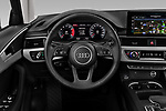 Car pictures of steering wheel view of a 2020 Audi A4 Advanced 4 Door Sedan