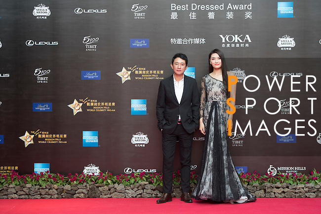 Red Carpet event at the World Celebrity Pro-Am 2016 Mission Hills China Golf Tournament on 20 October 2016, in Haikou, China. Photo by Weixiang Lim / Power Sport Images