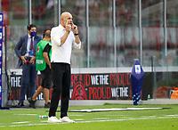 Milano 12-09-2021<br /> Stadio Giuseppe Meazza<br /> Campionato Serie A Tim 2021/22<br /> Milan - Lazio<br /> nella foto:  Stefano Pioli Ac Milan Allenatore / trainer                        <br /> foto Antonio Saia -Kines Milano