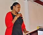 HISD Board President Wanda Adams.