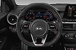 Car pictures of steering wheel view of a 2021 KIA Forte GT 4 Door Sedan Steering Wheel
