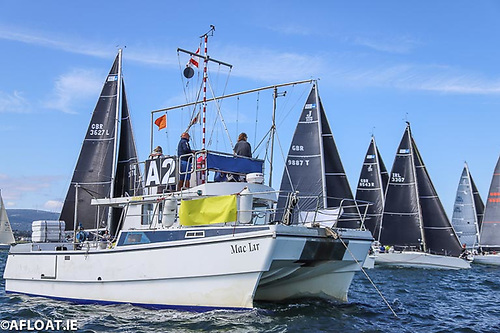 Finalising entries will also allow Volvo Dun Laoghaire Regatta's Principal Race Officer Con Murphy to plan what fleets are going on what Dublin Bay courses
