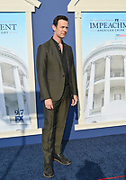 """LOS ANGELES, USA. September 02, 2021: Colin Hanks at the premiere for FX's """"Impeachment: American Crime Story"""" at the Pacific Design Centre.<br /> Picture: Paul Smith/Featureflash"""