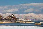 View Of Hayravank Monastery & Lake Sevan