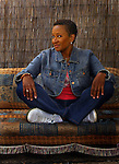 Wanda Sykes, Monday morning in Valley Village. She steals the show in Monster-In-Law, starring along Jane Fonda and JLo. Sykes has been a long-toiling commediene, who once worked for the federal government before turning to comedy.
