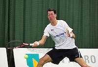 18-01-14,Netherlands, Rotterdam,  TC Victoria, Wildcard Tournament,   Wesley Visser (NED)<br /> Photo: Henk Koster