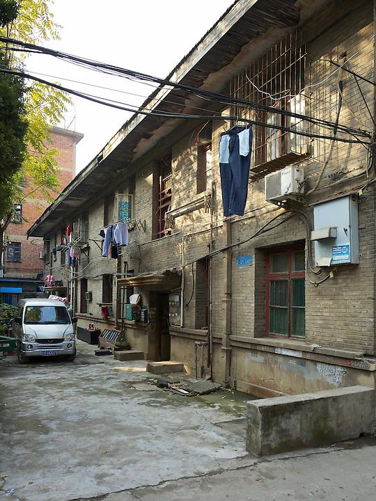 Outdoor Customs Staff Residence In Jiujiang (Kiukiang).