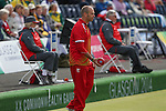 Glasgow 2014 Commonwealth Games<br /> <br /> Robert Weale (Wales) competing in the lawn bowls singles<br /> <br /> 30.07.14<br /> ©Steve Pope-SPORTINGWALES