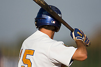 11 Oct 2008: Illustration of a batter during game 1 of the french championship finals between Templiers (Senart) and Huskies (Rouen) in Chartres, France. The Templiers win 5-2 over the Huskies