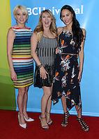 Dorinda Medley + Ramona Singer + Julianne Wainstein @ the NBC Universal summer 2016 press day held @ the Four Seasons Westlake Village.<br /> April 1, 2016