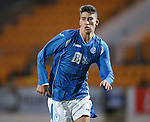 St Johnstone v Rangers...29.09.15   SPFL Development League  McDiarmid Park, Perth<br /> Greg Hurst<br /> Picture by Graeme Hart.<br /> Copyright Perthshire Picture Agency<br /> Tel: 01738 623350  Mobile: 07990 594431