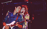 Madonna with Guitarist Paul Pesco