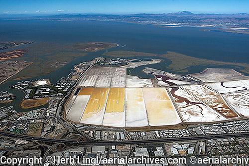 aerial photograph Redwood City, San Mateo county, California