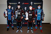 Winners #21 Bryan Herta Autosport w/ Curb Agajanian Hyundai Veloster N TCR, TCR: Mark Wilkins, Harry Gottsacker, podium, #98 Bryan Herta Autosport w/ Curb Agajanian Hyundai Veloster N TCR, TCR: Michael Lewis, Mason Filippi,