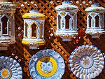 Spanien, Kanarische Inseln, Teneriffa, typ. Keramikarbeiten als Souvenirs | Spain, Canary Islands, Tenerife, typ. caramics for souvenirs
