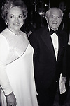 Mary Ingerman and Abraham D. Beame attend the Friars Club honored Cary Grant as their Man of the Year on May 16, 1982 at the Waldorf Astoria in New York City.