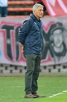MEDELLIN- COLOMBIA, 24-03-2019:Octavio Zambrano director técnico  del Independiente Medellín  ante el Envigado  durante partido por la fecha 11 de La Liga Aguila I 2019 ,jugado en el estadio Atanasio Girardot de la ciudad de Medellín /Octavio Zambrano  coach of Independiente Medellin  during match agsint of Envigado  match for the date 11 as part Aguila League I 2019 between Independiente Medellin  and Envigado played at Atanasio Girardot stadium in Medellin  city.  Photo: VizzorImage / León Monsalve  / Contribuidor