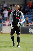Pictured: Swansea goalkeeper David Cornell. Saturday 17 July 2011<br />