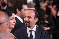 ASHGAR FARHADI - CANNES 2016 - MONTEE DU FILM 'LE CLIENT'