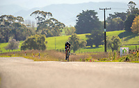 Alicia Edmundston (Counties Manukau Cycling). Time trials on Day One of the 2018 NZ Age Group Road Cycling Championships in Carterton, New Zealand on Friday, 20 April 2018. Photo: Dave Lintott / lintottphoto.co.nz