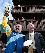Bernie Dalton and Bruce Miller in the winner's circle at Far Hills...priceless.