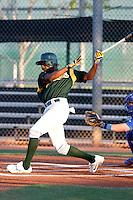 Myrio Richard-  Oakland Athletics - 2009 Arizona League.Photo by:  Bill Mitchell/Four Seam Images
