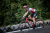 crash victim Philippe Gilbert (BEL/Lotto-Soudal)<br /> <br /> 7th La Course by Tour de France 2020 <br /> 1 day race from Nice to Nice (96km)<br /> <br /> ©kramon
