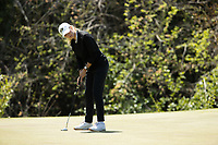 STANFORD, CA - APRIL 23: Hailey Schalk at Stanford Golf Course on April 23, 2021 in Stanford, California.