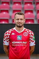 16th August 2020, Rheinland-Pfalz - Mainz, Germany: Official media day for FSC Mainz players and staff; Daniel Brosinski FSV Mainz 05