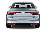 Straight rear view of 2021 Renault Talisman Intens 4 Door Sedan Rear View  stock images