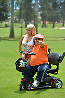 MIAMI  BEACH, FL - JUNE 28:  (EXCLUSIVE COVERAGE) Chelsea Handler's 'Little Nugget' with a hurt leg at the Irie Weekend Celebrity Golf Tournament at the Miami Beach Golf Club on June 29, 2012 in Miami, Florida on June 28, 2013 in Miami, Florida.<br /> <br /> People:  Chuy Bravo_Jesus Melgoza
