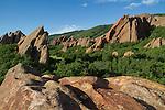 Sunrise at Roxborough State Park, near Denver, Colorado. John leads private photo tours throughout Colorado, year-round.