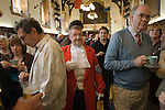 Court of Arraye. Lichfield Greenhill Bower. Interior The Guildhall. Lichfield Staffordshire. Listening to speeches.