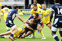 Sam VAKA of Agen during the Top 14 match between Clermont and Agen on October 3, 2020 in Clermont-Ferrand, France. (Photo by Romain Biard/Icon Sport) - Stade Marcel Michelin - Clermont Ferrand (France)