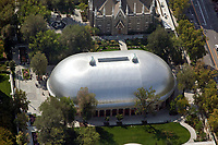aerial photograph of the Mormon Tabernacle, Salt Lake City, Utah