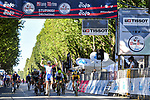 Arnaud Demare (FRA) Groupama-FDJ wins the 101st edition of Milan-Turin 2020 running 198km from Mesero to Stupinigi (Nichelino), Italy. 5th August 2020.<br /> Picture: LaPresse/Gian Mattia D'Alberto | Cyclefile<br /> <br /> All photos usage must carry mandatory copyright credit (© Cyclefile | LaPresse/Gian Mattia D'Alberto)