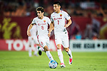 Shanghai FC Forward Wu Lei in action during the AFC Champions League 2017 Quarter-Finals match between Guangzhou Evergrande (CHN) vs Shanghai SIPG (CHN) at the Tianhe Stadium on 12 September 2017 in Guangzhou, China. Photo by Marcio Rodrigo Machado / Power Sport Images