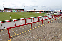 General view of the ground during Dagenham & Redbridge vs Woking, Vanarama National League Football at the Chigwell Construction Stadium on 3rd May 2021