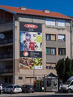 Wohnhaus in Vrsac, Vojvodina, Serbien, Europa<br /> Block of flats, Vrsac, Vojvodina, Serbia, Europe
