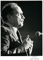 Pierre Trudeau , 2 mai 1980<br /> <br /> PHOTO : agence quebec presse