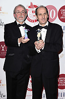 Peter Lord and David Sproxton<br /> London Critic's Circle Film Awards 2020, London.<br /> <br /> ©Ash Knotek  D3552 30/01/2020