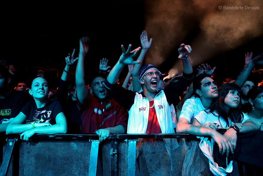 Audience - Festival BAM, Barcelona, Spain