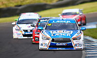 30th August 2020; Knockhill Racing Circuit, Fife, Scotland; Kwik Fit British Touring Car Championship, Knockhill, Race Day; Ashley Sutton leads the round 10 of the BTCC