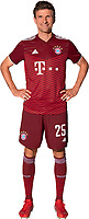 29th August 2021; Munich, Germany; FC Bayern Munich official team portraits for season 2021-22:  Thomas Mueller