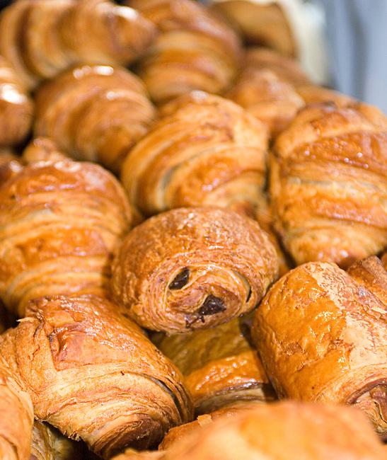 Croissants, Bouley Cafe, Tribeca, New York, New York