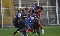 BOGOTÁ - COLOMBIA, 30-09-2020: Tigres FC y Real Cartagena  en partido de  vuelta de la segunda ronda de clasificación de la Copa Betplay DIMAYOR  jugado en el estadio Meropolitano de Techo de la ciudad de Bogotá. / Tigres FC and Real Cartagena in the second leg of the second qualifying round of the DIMAYOR Betplay Cup played at the Metropolitano de Techo  stadium in the city of Bogota. Photo: VizzorImage / Felipe Caicedo/ Staff