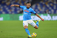 Faouzi Ghoulam of SSC Napoli during the Italy Cup football match between SSC Napoli and Empoli FC at stadio Diego Armando Maradona in Napoli (Italy), January 13, 2021. <br /> Photo Cesare Purini / Insidefoto