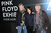 Roger Waters, Mayor of Rome Virginia Raggi and Nick Mason<br /> Roma 16/01/2018. Museo Macro. Mostra 'The Pink Floyd Exhibition - Their mortal remains'.<br /> Rome January 16th 2018. Museum Macro. 'The Pink Floyd Exhibition - Their mortal remains'.<br /> Foto Samantha Zucchi Insidefoto