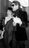 Liza Minnelli Halston 1978<br /> Photo By Adam Scull/PHOTOlink.net